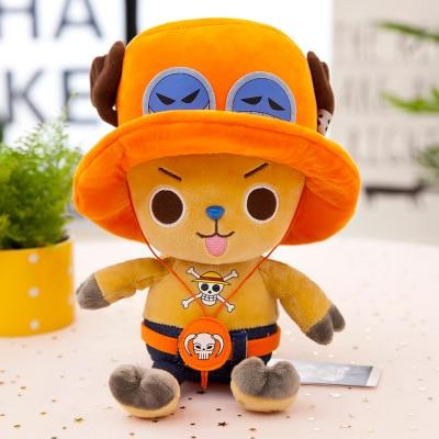 35cm New Selling Plush Doll Large One Piece Tony Tony Chopper Doll Children's Gift