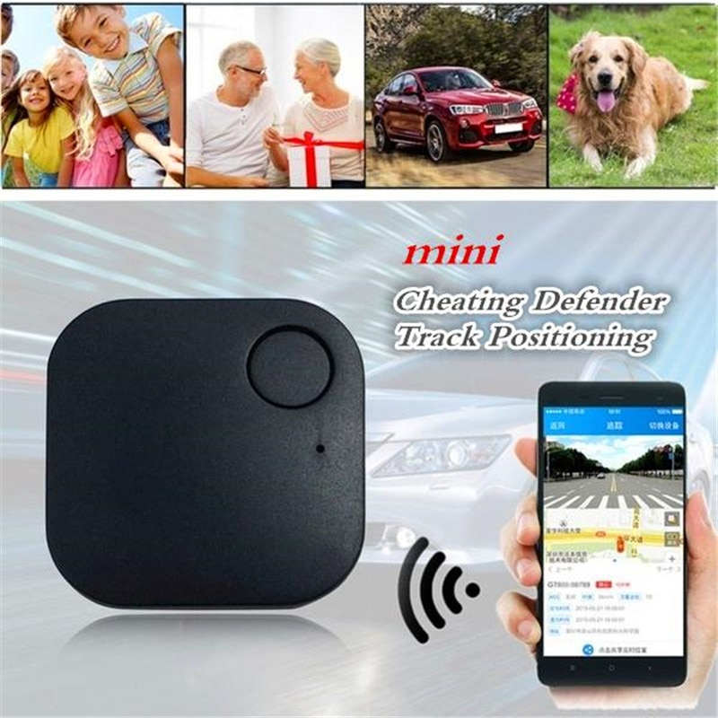 1PCS Car GPS Smart Tracker Low Power Bluetooth 4.0 Vehicle Realtime Finder Tracker Kids Pets Wallet Anti-lose Tracker Accessorie