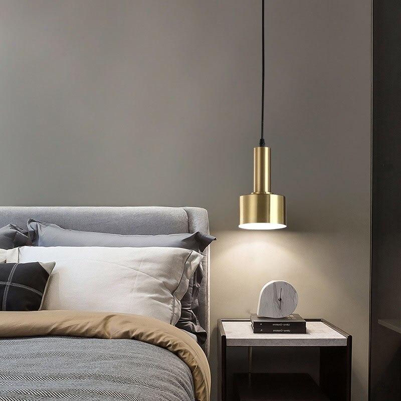 السرير الحديثة قلادة ضوء منصة مشروبات الشمال مصباح معلق لوفت طاولة طعام جزيرة المطبخ تعليق تركيبة إضاءة ضوء