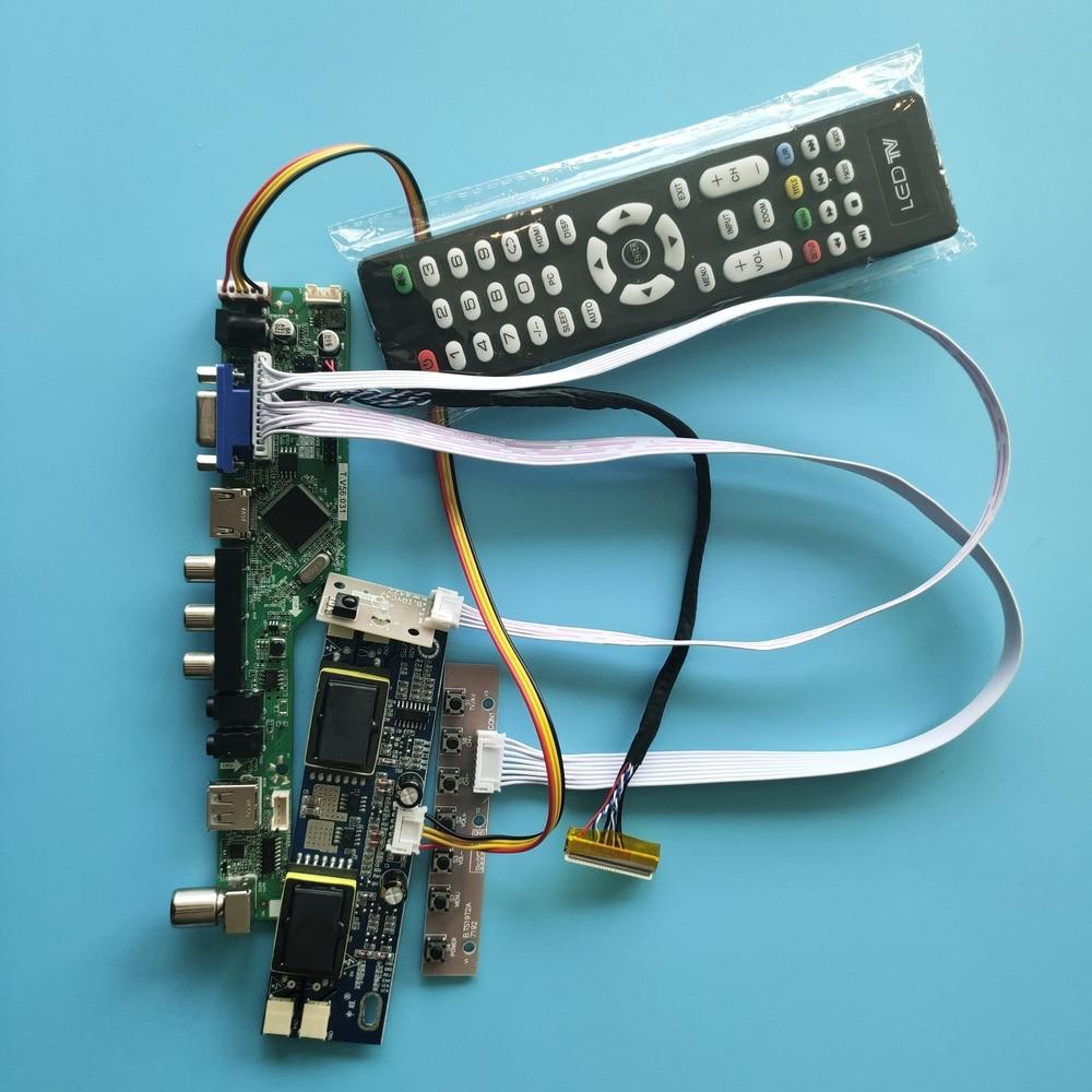ل M236H1-L08 4 مصابيح إشارة رقمية VGA AV 1920X1080 23.6