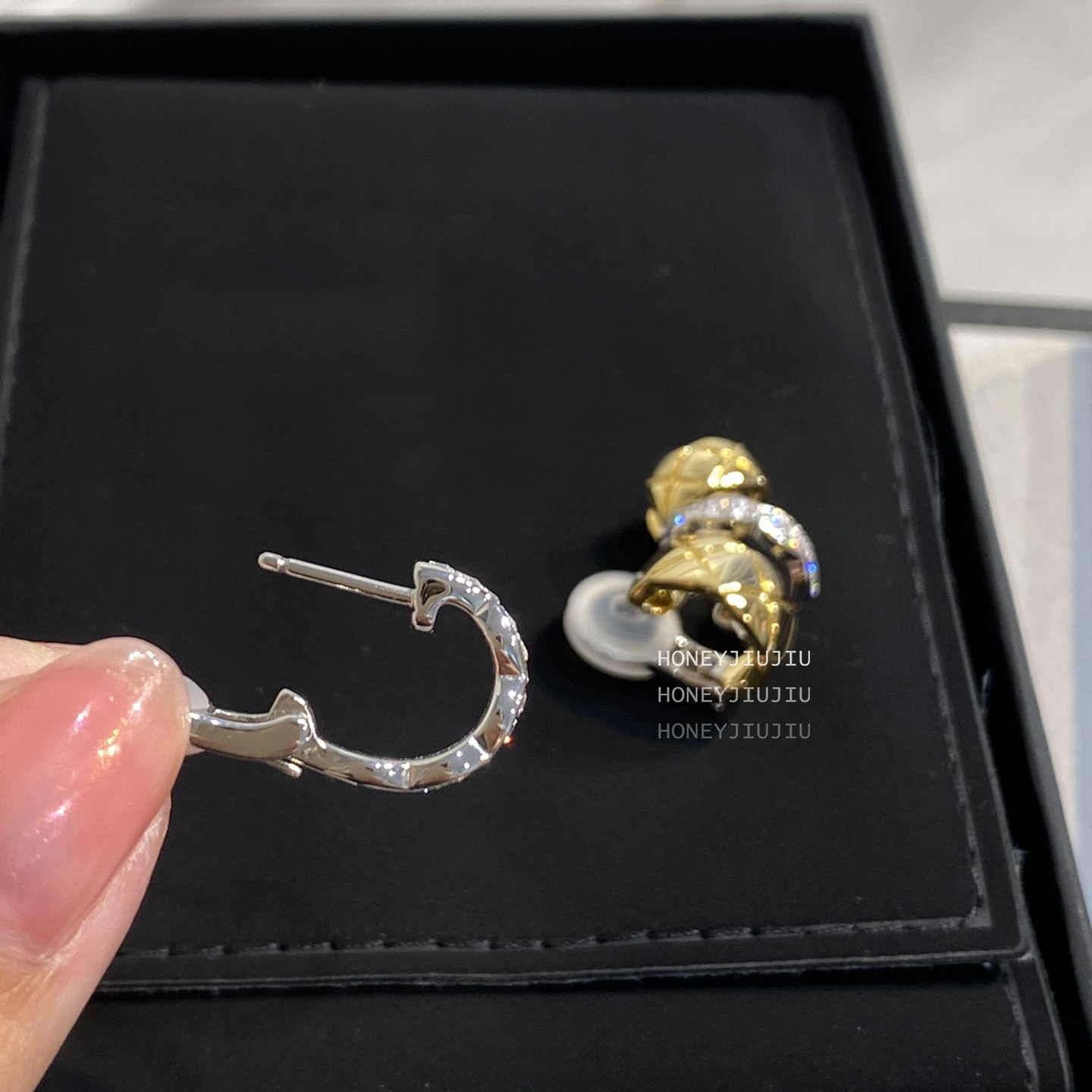 2021 Famous Brand Asymmetry Silver Color Ear Clip Gold Earrings For Women Luxury Jewelry Top Quality Designer Runway Trends