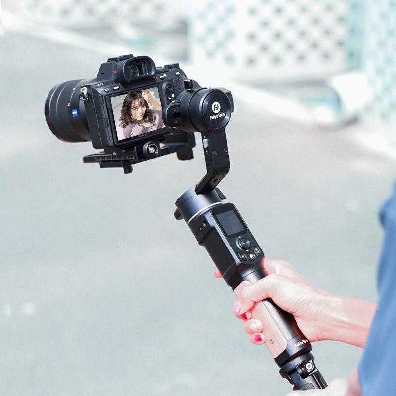 كاميرا FeiyuTech AK2000C 3 محاور مثبت انحراف DSLR كاميرا تصوير محمولة باليد مع كاميرا لوميكس كانون سوني نيكون باناسونيك فوجي