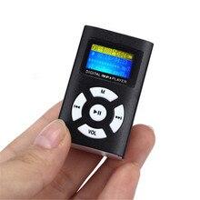 Portable Car Auto Hifi USB Mini MP3 Music Player Screen Support LCD 32gb Sport Music Player
