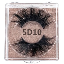 25mm 100% handmade natural thick 5D Mink Eye lashes wispy makeup extention tools 3D mink hair volume