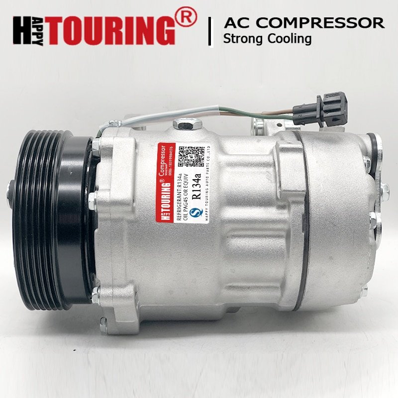 Компрессор для кондиционера SD7V16 AC, для volksgen Passat 35i Golf 3 Corrado 357820803R 8FK351127-521 7m08720803c 7m08720803n