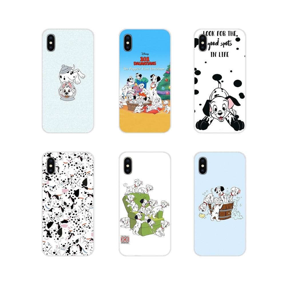 Silikon telefon kapakları 101 dalmaçyalı köpek Minimal film için Apple iPhone X XR XS 11Pro MAX 4S 5S 5C SE 6S 7 8 artı ipod touch 5 6