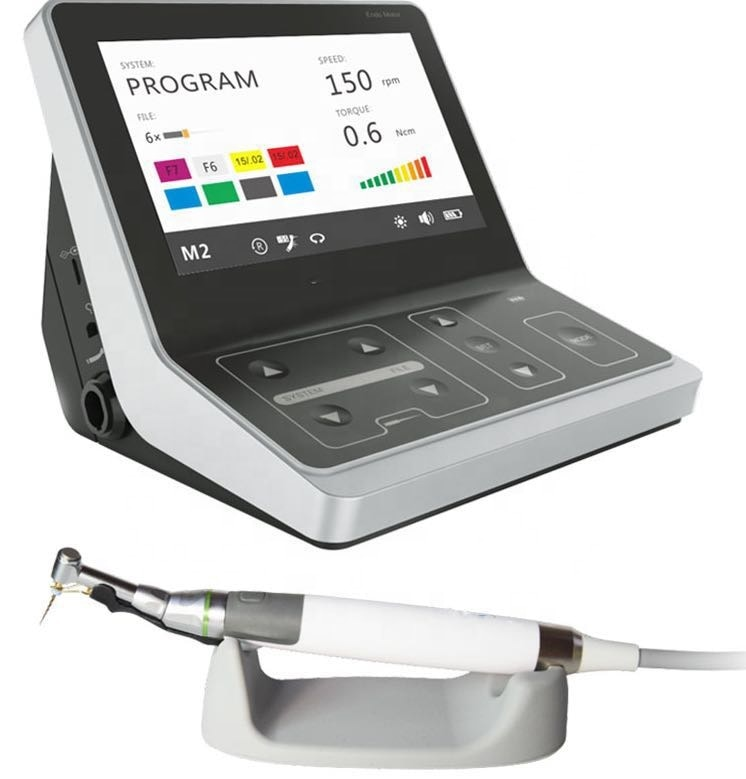 C-سمارت I برو coxos علاج اللبية إندو موتور مع المدمج في قمة محدد مع مصباح ليد/إندو موتور الترددية