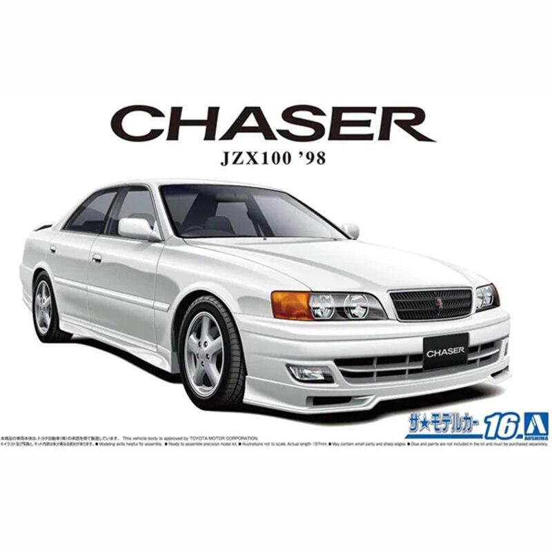 سيارة ألعاب مُجمَّعة من aoفرق طراز 1/24 طراز سيارة TOYOTA JZX100 chser Tourer V #05859