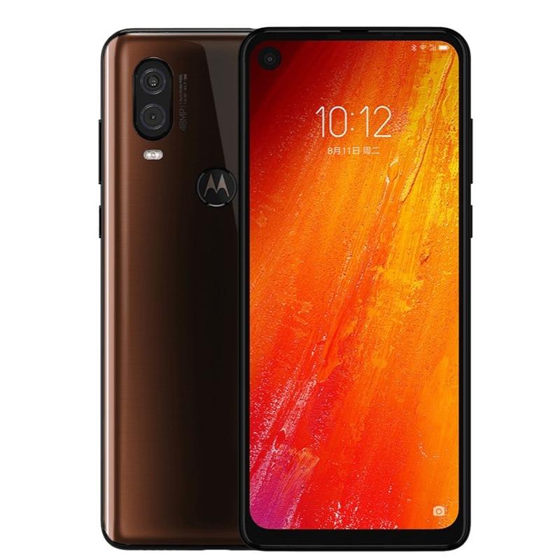 Motorola Moto P50 one vision 4G смартфон 6,34 ''FHD + 6 ГБ 128 ГБ Восьмиядерный 48 МП 25 МП селфи Android 9 мобильный телефон