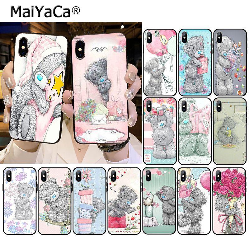 MaiYaCa Tatty Teddy Bear Me To You, funda de accesorios de teléfono para iPhone 11 Pro XS MAX XS XR 8 7 6 Plus 5 5S SE
