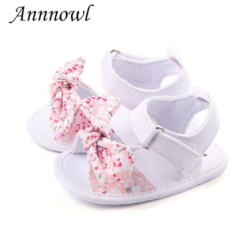 Fashion Brand Baby Girl Summer Shoes for Girl Infant Sandales Toddler Sandalen Cute Bowknot Newborn