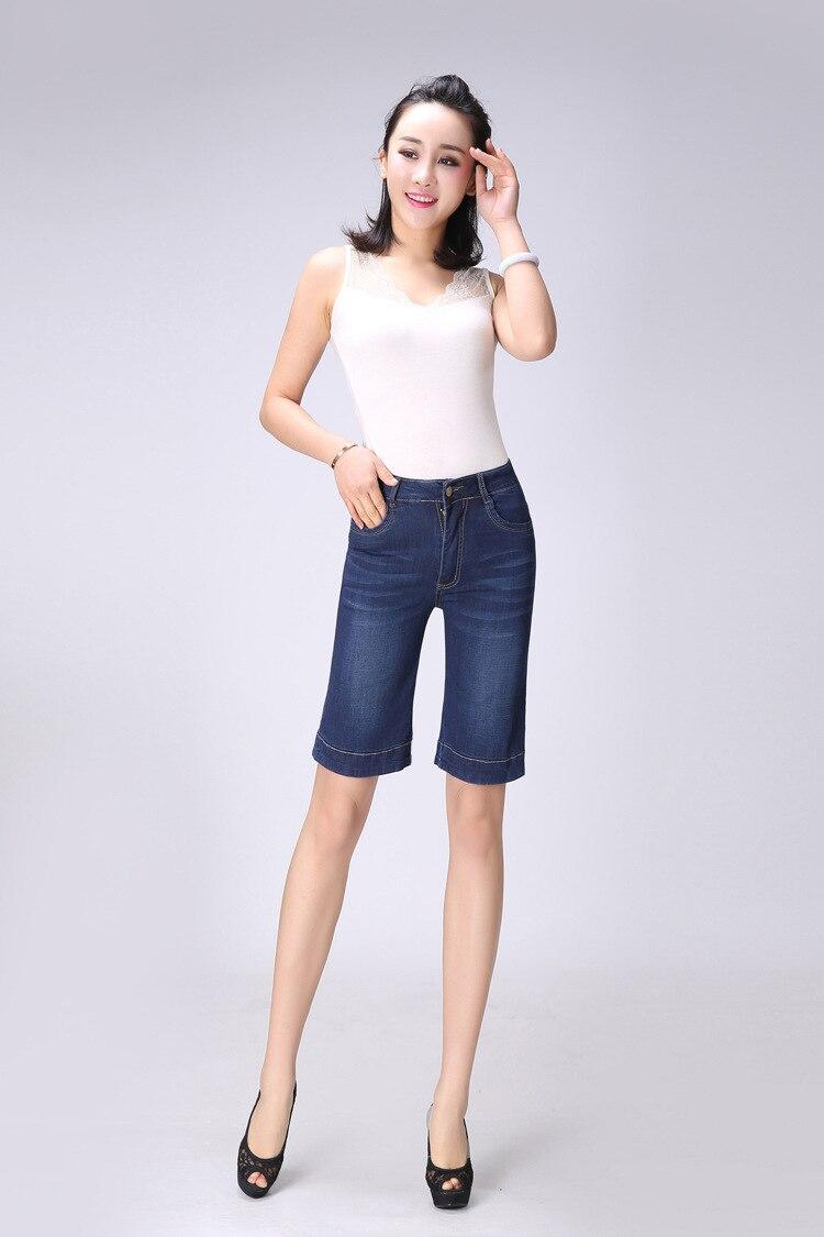 Jian Peng pantalones vaqueros pantalones cortos de las mujeres 2019 shorts vaqueros para mujer novedad de verano Casual de talla grande denim femenino alta cintura corta Mujer