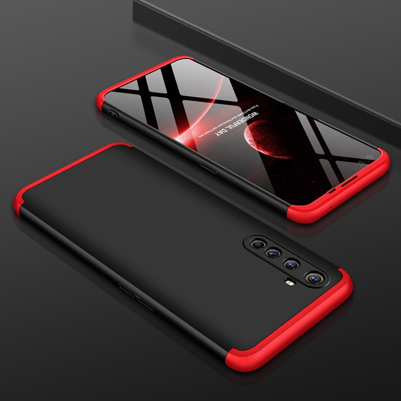 Case for OPPO Realme X50 Pro Case 360 Full Protection Shockproof 3 in 1 Matte Hard PC Cover for OPPO