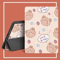 for ipad pro 9 7 2016 case a1673 a1674 pu leather silicone smart cover for ipad 9 7 2018 6th gen air 1 2 case with pencil holder