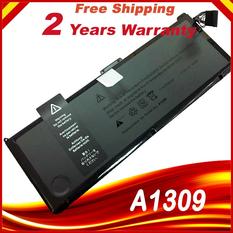 Аккумулятор 95Wh для Apple MacBook Pro, 17 дюймов, A1309, A1297, ранняя версия 2009 года, середина 2009 года, середина 2010 года