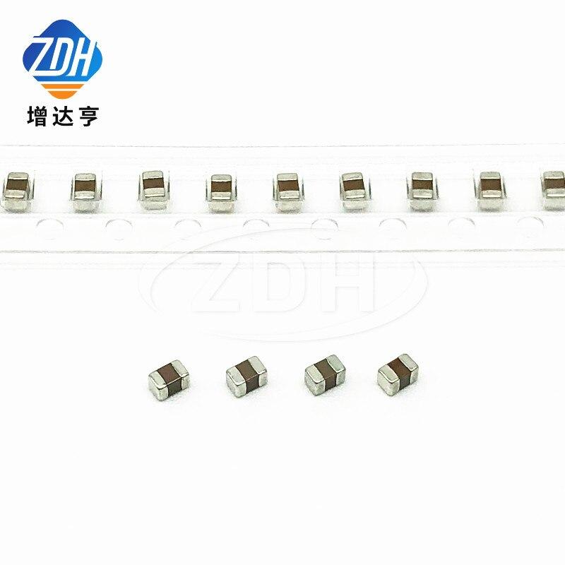 100pcs/capacitor de cerâmica 2012 0805 1.8PF 50V 100P 1.8 V NPO ± C0G 0.25PF