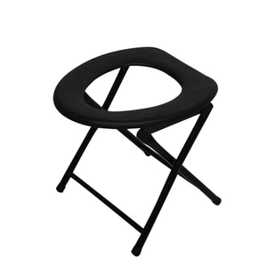 New Portable Strengthened Foldable Toilet Chair Travel Camping Climbing Fishing Mate Chair Outdoor Activity Accessories