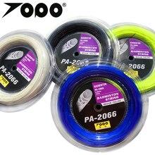 Free shipping 1 reel  200m topo quality PA-2066 Badminton string 0.66mm badminton racket strings Power strings