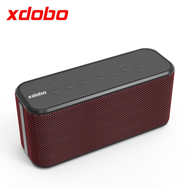 XDOBO X8 زائد 80W المتحدثين سماعة لاسلكية تعمل بالبلوتوث TWS مع قوي العميق باس مضخم صوت 10040mAh أربعة خلية قوة البنك وظيفة 360