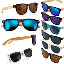 1pcs New Bamboo Sunglasses Wooden Wood Sunglasses Men Women Retro Vintage Summer Glasses Fashion Sun