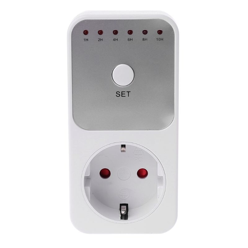 Countdown Timer Socket Intelligent Time Setting Switch Timer Control Sockets EU Plug 32CC