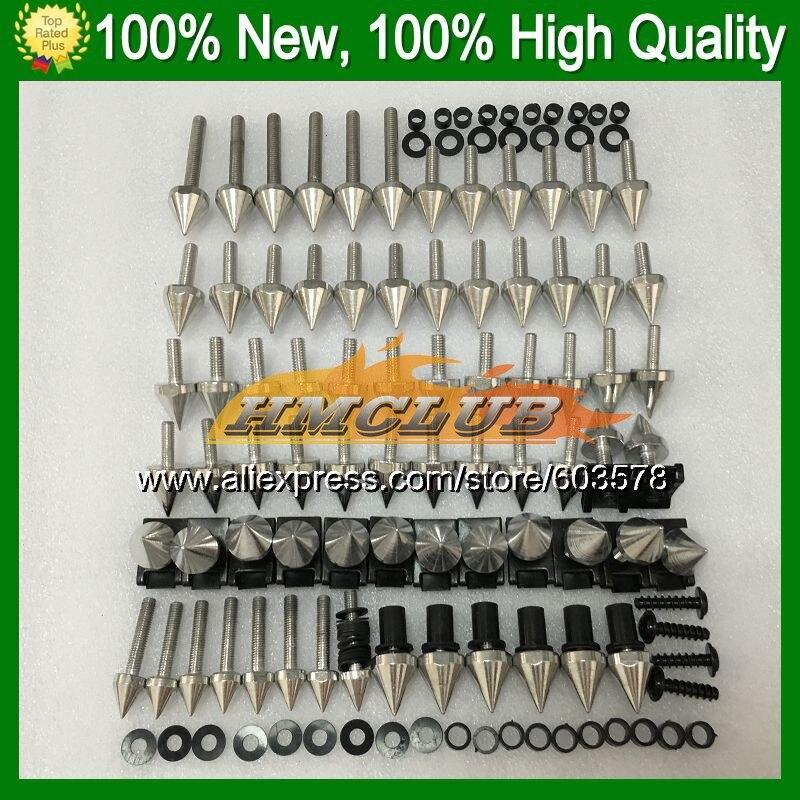 Fairing bolts full screw kit For HONDA CBR400RR 87 88 89 NC23 CBR400 RR CBR 400RR 400 1987 1988 1989 CL97 Nuts bolt screws Nut