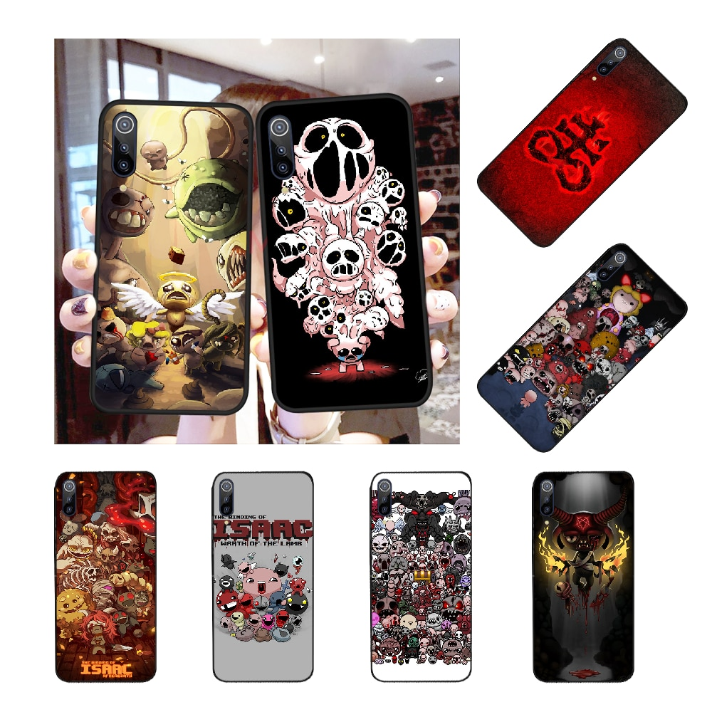 NBDRUICAI The Binding of Isaac Rebirth Game Soft Silicone Phone Cover for Redmi Note 8 8A 7 6 6A 5 5A 4 4X 4A Go Pro Plus Prime