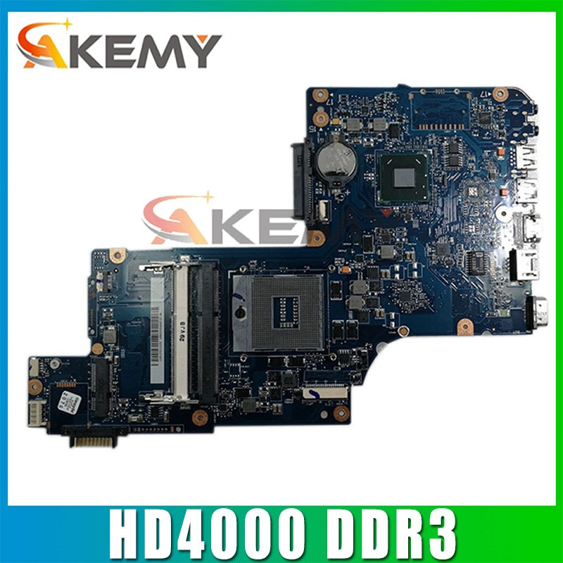 AKEMY العلامة التجارية الجديدة اللوحة الأم لأجهزة الكمبيوتر المحمول توشيبا L870 L875 إنتل HM76 GMA HD4000 DDR3 المقبس PGA989 H000038240