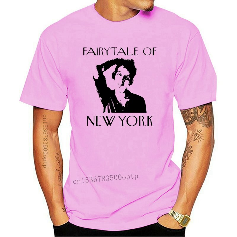 New The Pogues Fairytale Of 2021 York T-Shirt-Shane Mcgowan, Christmas, All Sizes Large Size Tee Shirt