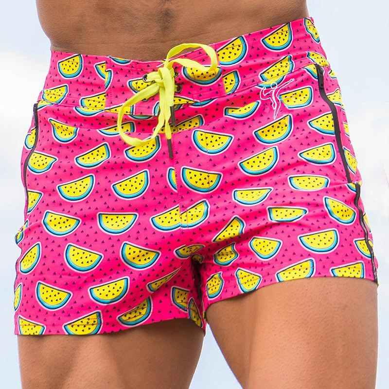 Модные высококачественные мужские Гавайские плавательные шорты, плавательные шорты, пляжные летние брюки M-3XL