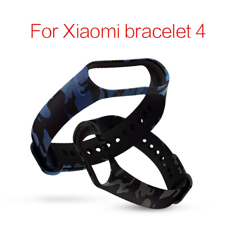 Replacement Wristband Silicone For Xiaomi Mi Band 4 Colorful Smart Strap Miband