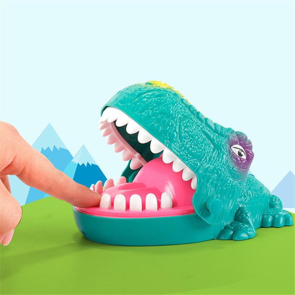 Игрушка на палец, Забавный динозавр, вытягивающие зубы, игры для бара, игрушки для детей, Интерактивная Новинка, розыгрыш, розыгрыши