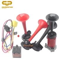 universal car air horn compressor auto siren loud speaker 12v truck vehicle for toyota car horn rav4 corolla camry vios reiz