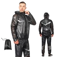 unisex waterproof bike cycling rain jacket sets reflective bicycle raincoat windproof bike rainproof long sleeve coat jerseys