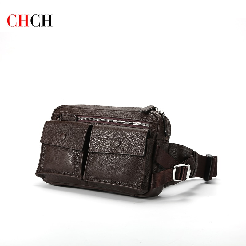 clear crossbody bag with inner pouch CHCH Fashion Designer Genuine Leather Pack Bag Phone Pouch Waist Belt Bag Hip Purse Wallet Travel Shoulder Crossbody Bags