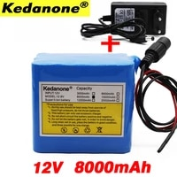 18650 battery 100 original 12v 8ah battery suitable for electrical equipment 3s4p 12 6v 8ah lithium ion rechargeable battery