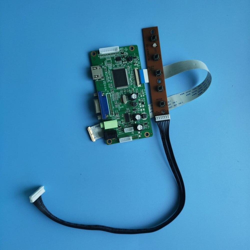 ل NV133FHM-N56/N54/N66/N68/N33/N57 شاشة عرض عدة VGA سائق LCD 1920 × 1080 لوحة تحكم 30pin EDP شاشة LED 13.3