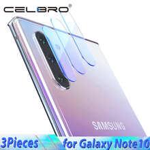 Закаленное стекло для объектива камеры Samsung Galaxy Note 10 Plus Pro 10 + Защитная пленка для экрана Защитное стекло для задней камеры защитная пленка