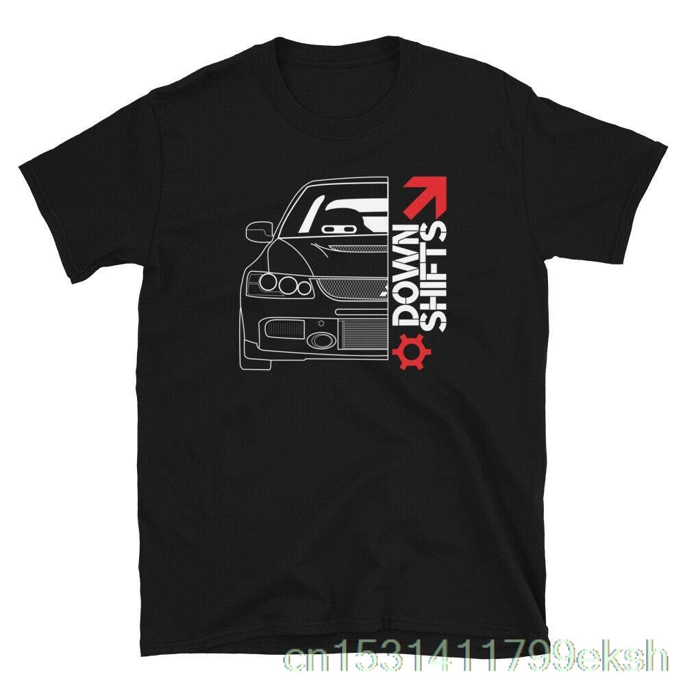 Evo 9 JDM Tee ajuste coches automoción mejor de manga corta Camiseta Unisex