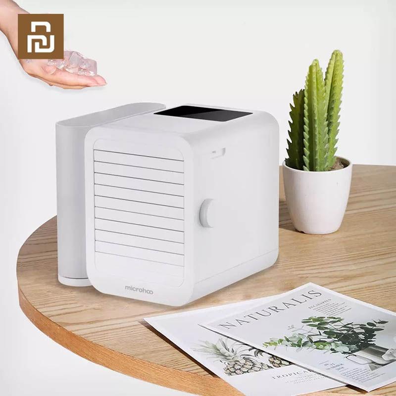 YouPin Microhoo 3 In 1 Mini Klimaanlage Wasser Lüfter Touch Screen Timing Artic Kühler Luftbefeuchter Für Sommer