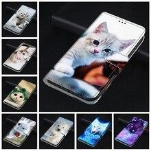Etui portefeuille à rabat en cuir pour Etui Hawei P20 30 Lite Honor 7X 8A 8C 8X 9 9X 10 Lite portefeuille couverture livre hoesje