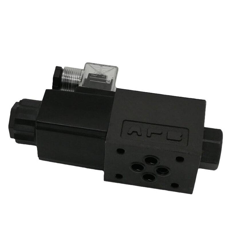 Yuken hydraulic valve solenoid directional valve DSG-01-2B2 hydraulic use electric valve Nominal diameter 6 (mm) Cast iron enlarge
