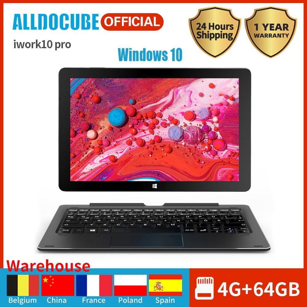 2020 Alldocube portátil iWork10 Pro Tablet 10,1 pulgadas de pantalla IPS Intel Atom Z8350 4GB RAM 64GB Windows10 Android5.1 Dual OS