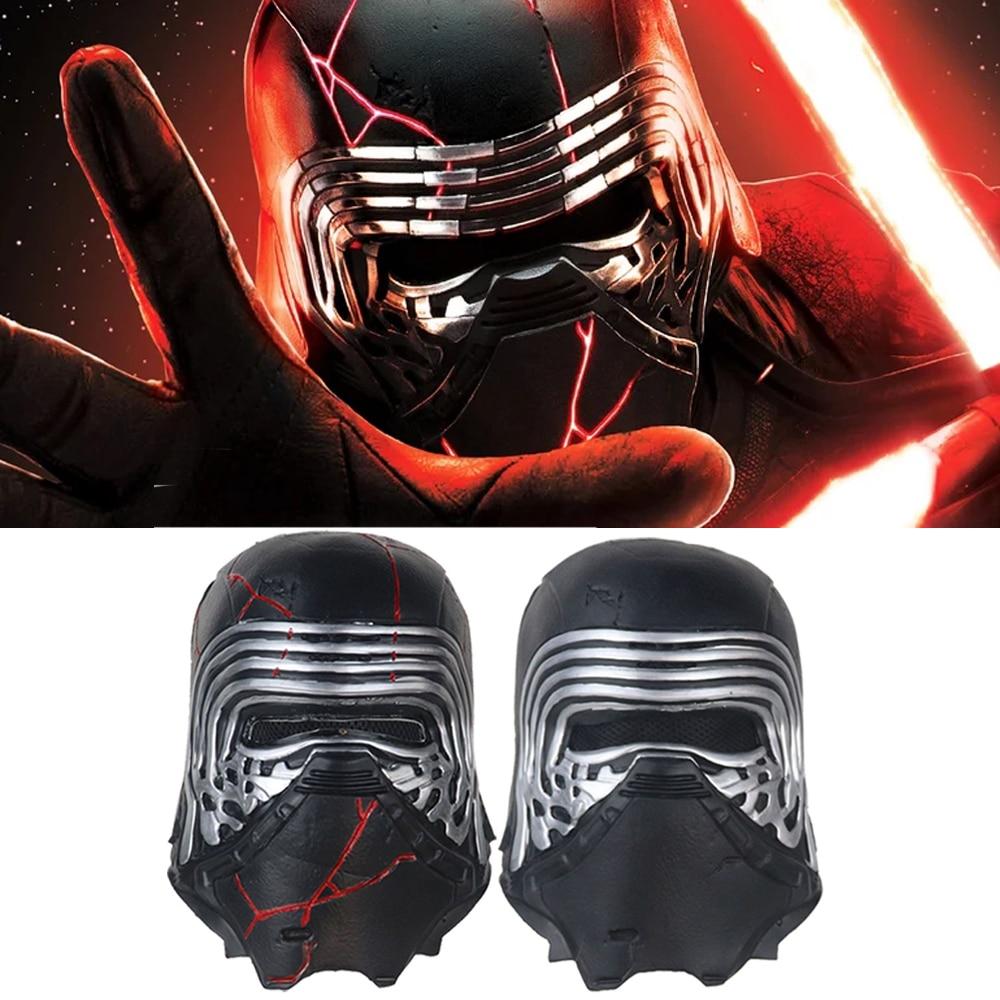 Snailify Star Wars 9 Cosplay Kylo Ren Mask The Force Awakens Latex Helmet Masks halloween mask