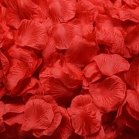 100 pieces of simulation rose petals wedding wedding room layout artificial flower decoration supplies
