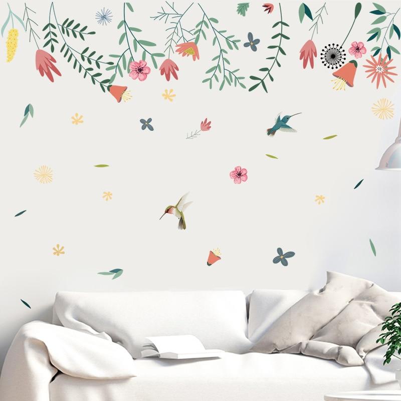 Pegatina de pared para decoración de dormitorio, vinilo decorativo para pared, pegatinas...
