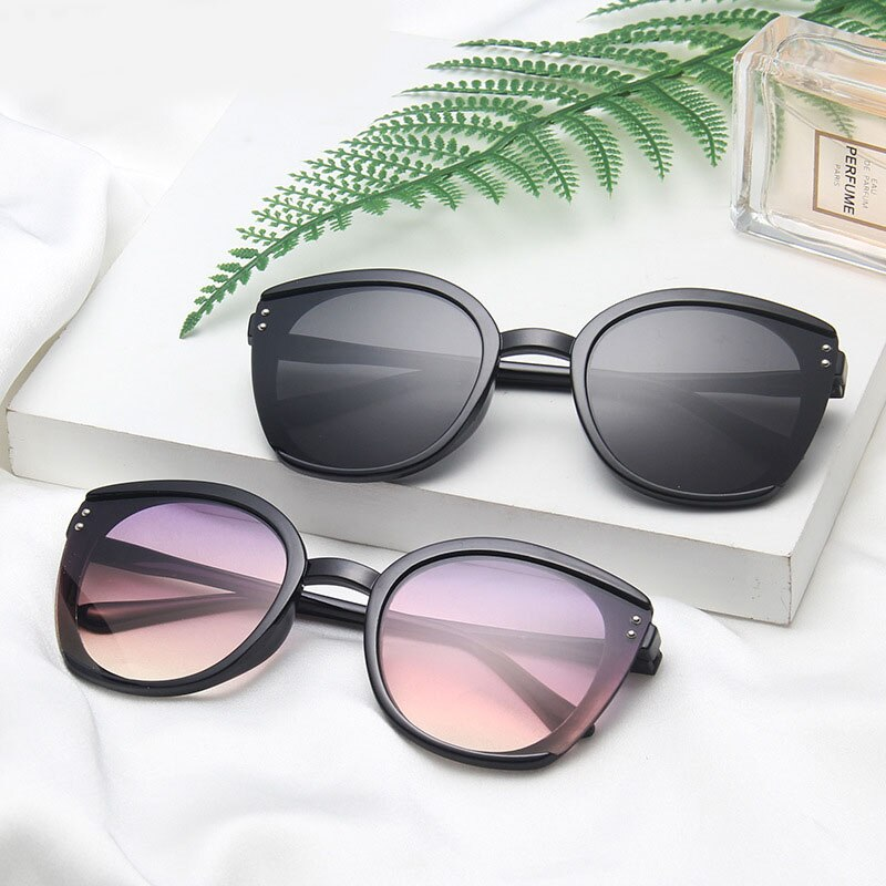 Oversized Sunglasses Women 2020 Fashion Cat Eye Sun Glasses Shades For Men Goggles Vintage Retro Gla