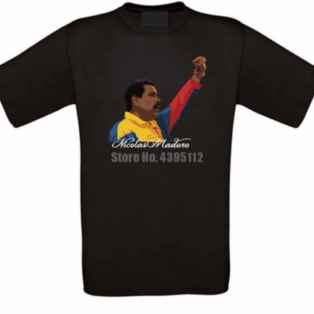 Nicolas Maduro, Venezuela, Bolívar, socialismo, Unisex, camiseta de Horror, Snus, camisetas deportivas, camisetas con estilo, Wnpblq