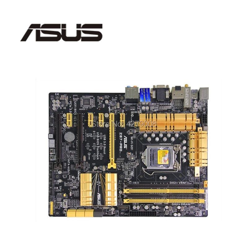 Розетка LGA1150 PCI-E3.0 USB3.0 SATA3 для ASUS Z87-PRO 7 PCIE материнская плата (альтернатива H81 H61 TB250 PRO BTC TB85)