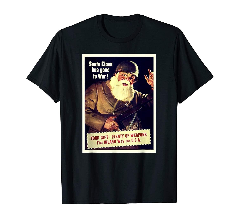 Camiseta de diseño militar de Papá Noel ha ido a la guerra,...